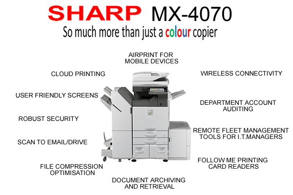 Sharp-MX4070